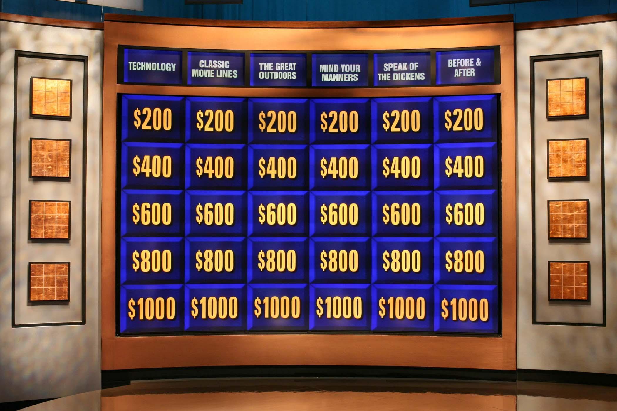 jeopardy game board game shows wiki fandom powered by wikia