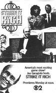 Strike It Rich Print Ad