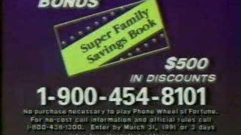 Wheel of Fortune commercial