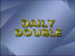 Jeopardy! 1987 Daily Double intertitle