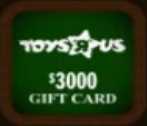 Toys R Us Gift Card ($3000)