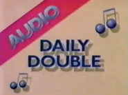 Audio Daily Double -3