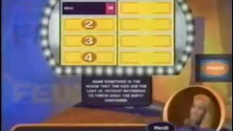 Family Feud video game plug, 2000