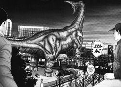 Brachiosaurus alien