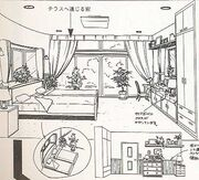 World mamoru home master bed