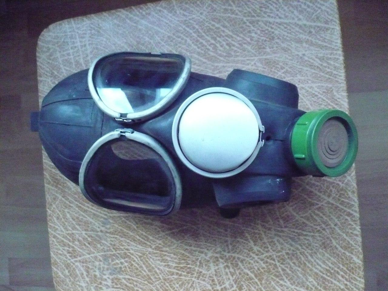Gas Mask Lenses Pmk-3 Gas Mask Prototype