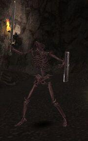 Fiery Skullic Warrior (lvl 93)