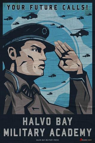 File:Halvo bay military academy poster by m wojtala-d62vhnf.jpg