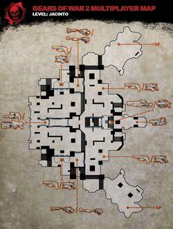 Jacinto map