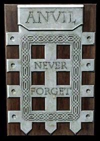 Anvil Gate Plaque