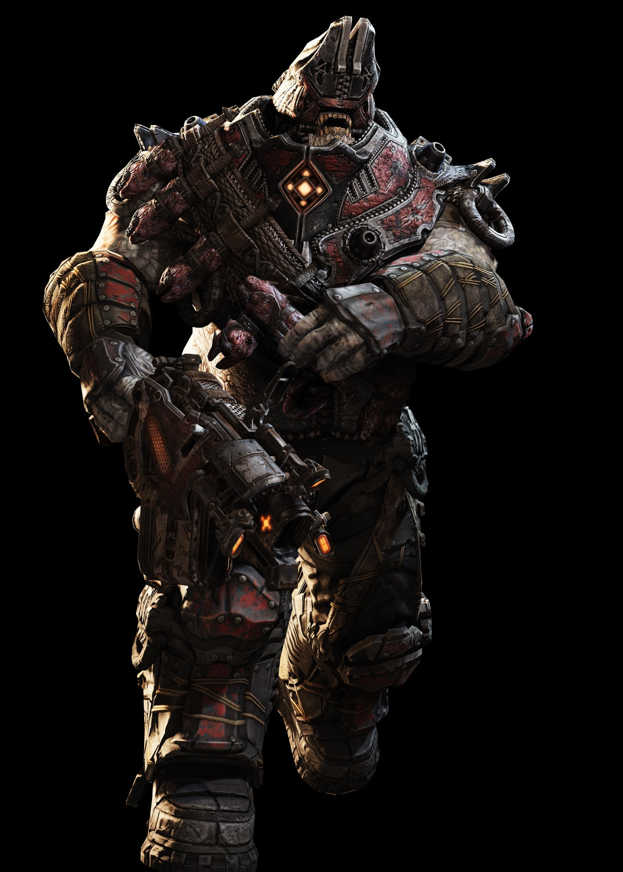 drone gears of war with Savage Boomer on 12736 likewise Gears Of War COG Helmets 265657564 moreover 2507653386 further 561411 besides Savage Boomer.