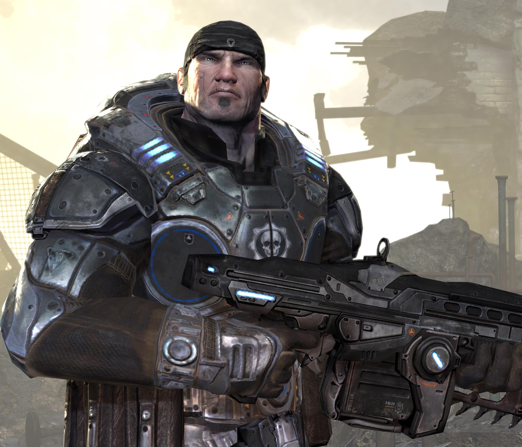 Resultado de imagem para gears of war marcus fenix