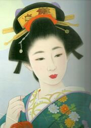 Geisha-painting