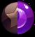 Gem Brown Purple