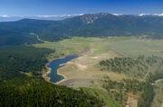 Martis Creek Lake and Dam summer