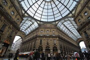 Galleria Vittorio Emanuele II Milan May 2009