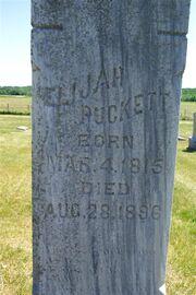 Puckett-Elijah tombstone