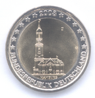 €2 commemorative coin Germany 2008
