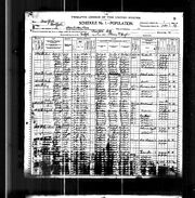 1900 census Reed Carroll