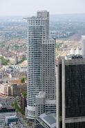 Frankfurt Am Main-Westend Tower-Ansicht vom Maintower