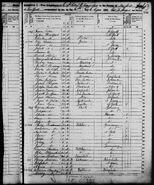 Oscar Arthur Moritz Lindauer (1815-1866) in the 1850 US census for Manhattan