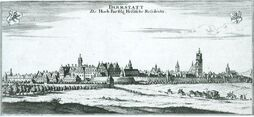 Darmstadt in 1626 Thesaurus Philopoliticus