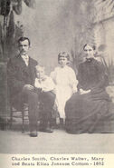 Charles Smith Cottam (1861-1950) and family
