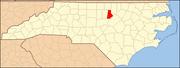North Carolina Map Highlighting Durham County.PNG