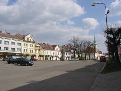 Kostelec nad Orlicí - Palacký's Square.jpg