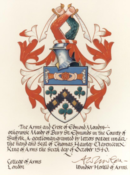 Moody Coat of Arms Small