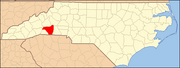 North Carolina Map Highlighting Rutherford County.PNG
