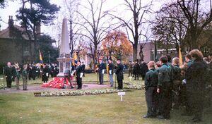 Jenner, Kenneth war memorial, Page Park, Staple Hill, Bristol