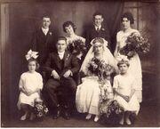 Woods Jensen 1918 wedding
