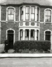 8 Seymour Road, home from 1950 of Edward William Burgess Baglin, wife Florence Evelin Jenner and family