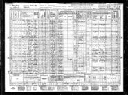 1940 United States Federal Census for Burnett Van Densen