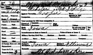 Iowa State Census.1915.Webster.Colfax-Messerly Howard