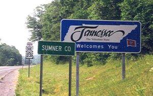 Sumner County TN sign