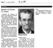 Maurice-Renner-obituary