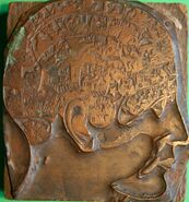 Brass Head used by George Burgess