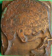 Brass Head used by George Burgess