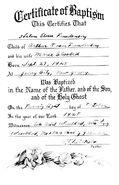 Freudenberg-HelenEloise 1928 baptism