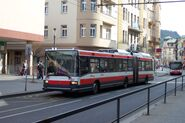 Ústí nad Labem, Centrum, Trolejbus Škoda 22Tr