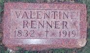 Valentine-Renner-Gravestone