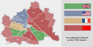 Wien Besatzungszonen