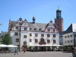 Altes Rathaus-Marktplatz-Darmstadt