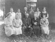 Sam and Marietta (Johnson) Beck family
