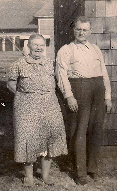 Addie & Wm A Lisenby 1941
