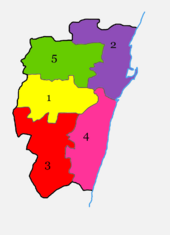 Chennai-talukas