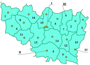 Vladimir oblast numbered
