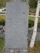Rev Carl Gustaf Näslund tombstone